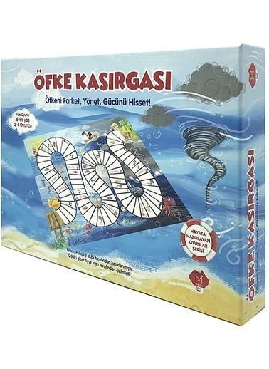 Morhipo kitap Hayata Hazırlayan Oyunlar Serisi - Öfke Kasırgası Renkli